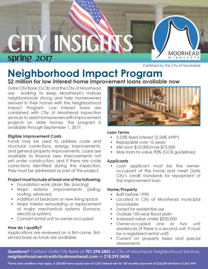 City Insights - Spring 2017 - COVER PAGE