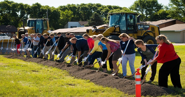 Groundbreaking ceremony for 20/21 St Underpass