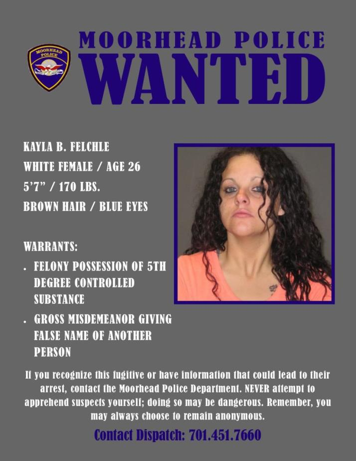 Wanted Wednesday September 26 - Felchle