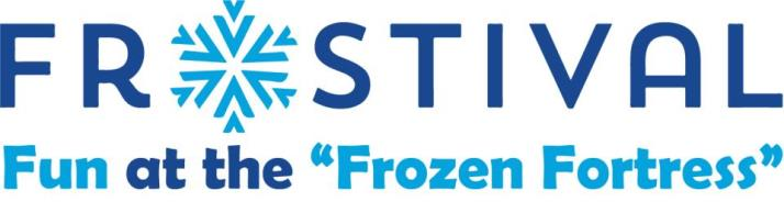 Frostival Fun at the Frozen Fortress Logo