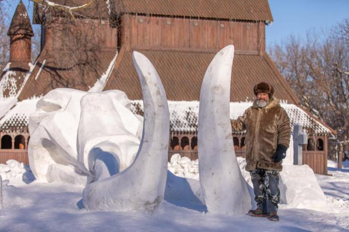 MBA Snow Sculpture Competition