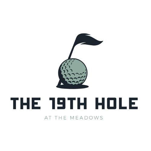 19th hole at the meadows logo
