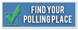 Find Your Polling Place Button for Elections Webpage